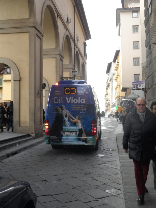 Bill Viola in Florence; the Italian-American artist soon in Florence; what it does to advertise an art event!