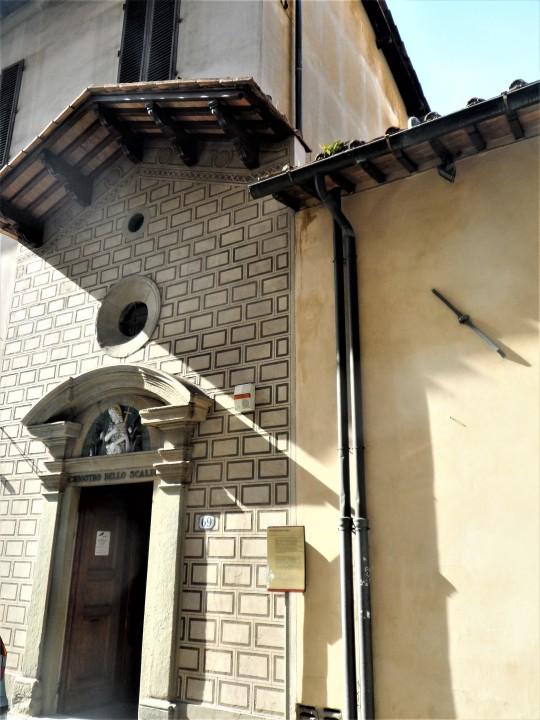 Chiostro dello Scalzo      Compagnia di S      Giovanni Battista         via Cavour             Firenze