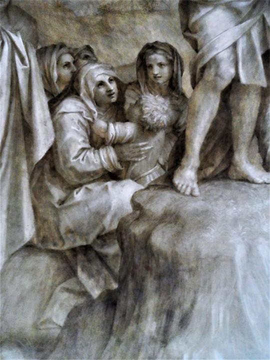 Predica del Battista           particolare