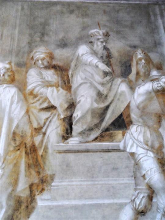 Cattura del Battista particolare