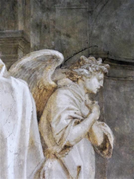 Annuncio dell'Angelo        a Zaccaria        particolare