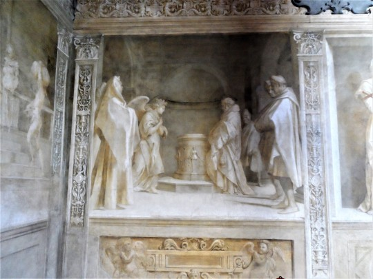 Annuncio dell'Angelo  a Zaccaria 2/16