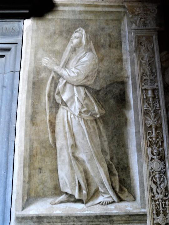 Decorazione Chiostro dello Scalzo  di Andrea del Sarto 16/16            Speranza è ritratta la figlia del pittore