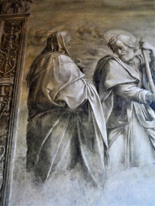 Incontro di Cristo e San Giovannino particolare