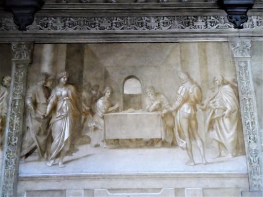 Decorazione Chiostro dello Scalzo  di Andrea del Sarto  13/16  Danza di Salome