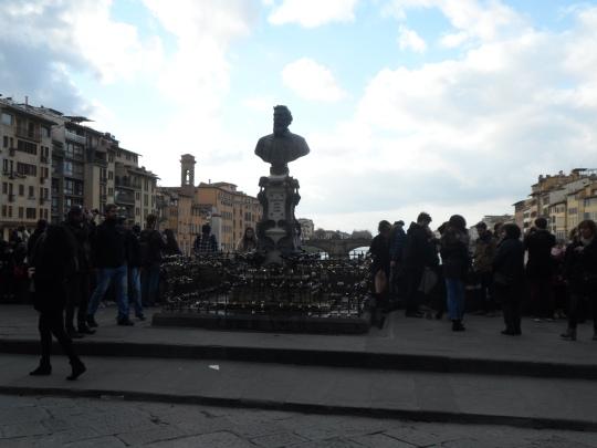 I love padlocks in Florence!