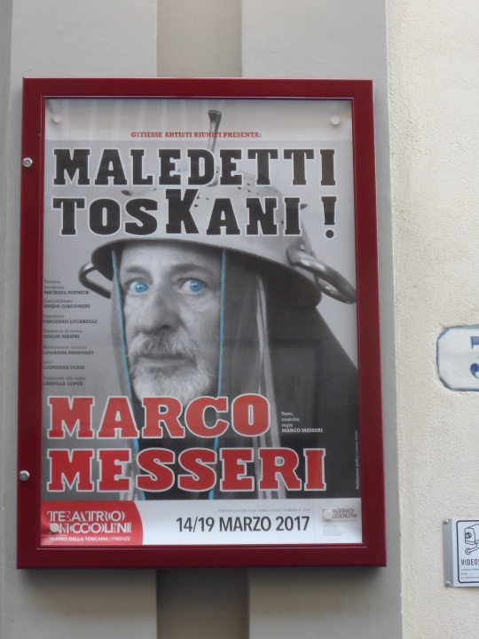A tribute, through this theatrical Opera to Curzio Malaparte; many years ago author are de: '    : 'Cursed Tuscan'!